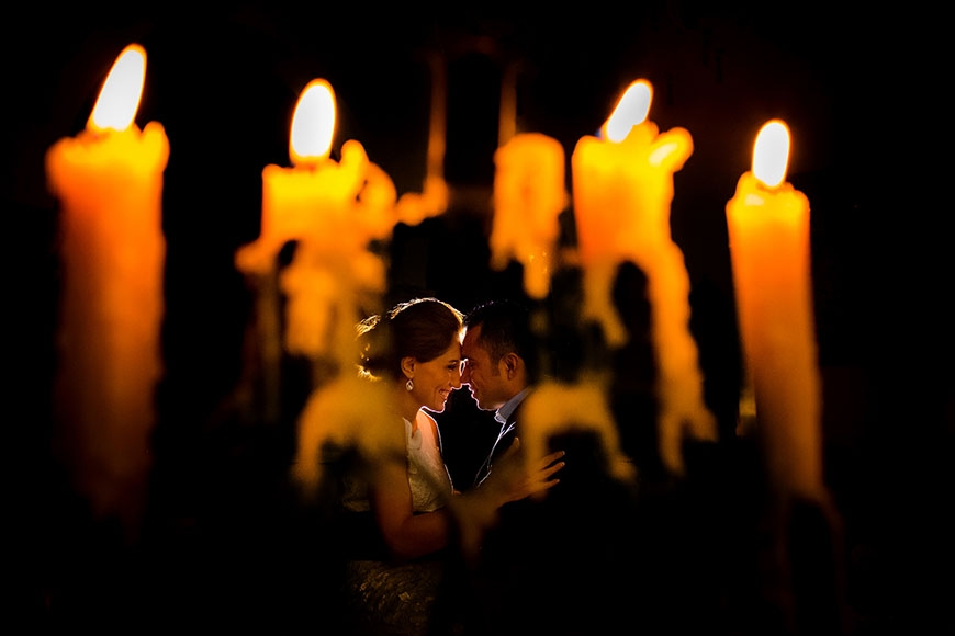 casa cece wedding portrait with candle light.jpg