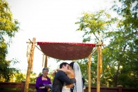 japanese garden ceremony photo, balboa park wedding photographer, japanese garden wedding